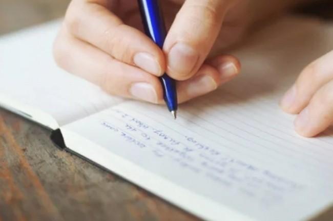 Книга с ручкой