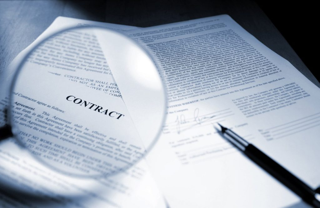 перевод контракта